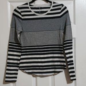 Merona Striped long sleeve shirt